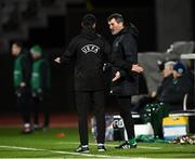 19 November 2018; Republic of Ireland assistant manager Roy Keane during the UEFA Nations League B match between Denmark and Republic of Ireland at Ceres Park in Aarhus, Denmark. Photo by Stephen McCarthy/Sportsfile