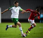 19 November 2018; Seamus Coleman of Republic of Ireland during the UEFA Nations League B match between Denmark and Republic of Ireland at Ceres Park in Aarhus, Denmark. Photo by Stephen McCarthy/Sportsfile