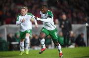 19 November 2018; Michael Obafemi of Republic of Ireland during the UEFA Nations League B match between Denmark and Republic of Ireland at Ceres Park in Aarhus, Denmark. Photo by Stephen McCarthy/Sportsfile