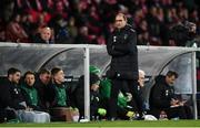 19 November 2018; Republic of Ireland manager Martin O'Neill during the UEFA Nations League B match between Denmark and Republic of Ireland at Ceres Park in Aarhus, Denmark. Photo by Stephen McCarthy/Sportsfile