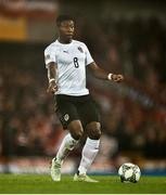 18 November 2018; David Alaba of Austria during the UEFA Nations League match between Northern Ireland and Austria at the National Football Stadium in Windsor Park, Belfast. Photo by David Fitzgerald/Sportsfile