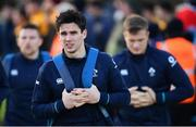 20 November 2018; Joey Carbery arrives for Ireland Rugby squad training at Carton House in Maynooth, Co Kildare. Photo by Ramsey Cardy/Sportsfile