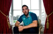 20 November 2018; Jack Conan poses for a portrait following an Ireland Rugby press conference at Carton House in Maynooth, Co Kildare. Photo by Ramsey Cardy/Sportsfile