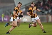 18 November 2018; Rian O'Neill and Oisin O'Neill of Crossmaglen Rangers during the AIB Ulster GAA Football Senior Club Championship semi-final match between Crossmaglen Rangers and Gaoth Dobhair at Healy Park in Omagh, Tyrone. Photo by Oliver McVeigh/Sportsfile