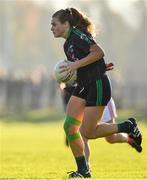18 November 2018; Amy Connolly of Foxrock-Cabinteely during the All-Ireland Ladies Senior Club Football Championship Semi-Final 2018 match between Foxrock-Cabinteely and Donaghmoyne at Bray Emmets GAA Club in Bray, Wicklow. Photo by Brendan Moran/Sportsfile