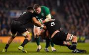 17 November 2018; Tadhg Furlong of Ireland is tackled by Ardie Savea and Kieran Read of New Zealand during the Guinness Series International match between Ireland and New Zealand at Aviva Stadium, Dublin. Photo by Brendan Moran/Sportsfile