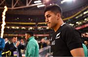 17 November 2018; Rieko Ioane of New Zealand prior to the Guinness Series International match between Ireland and New Zealand at Aviva Stadium, Dublin. Photo by Brendan Moran/Sportsfile