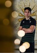 22 November 2018; Joey Carbery poses for a portrait following an Ireland rugby squad press conference at Carton House in Maynooth, Kildare. Photo by Eóin Noonan/Sportsfile