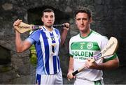 22 November 2018; Colin Fennelly of Ballyhale Shamrocks, right, and Conor Dooley of Ballyboden St. Enda's in attendance during the AIB Senior Leinster Hurling Final Club Launch at Dalkey Castle in Dublin. Photo by David Fitzgerald/Sportsfile
