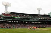 18 November 2018; A general view of action during the Aer Lingus Fenway Hurling Classic 2018 semi-final match between Clare and Cork at Fenway Park in Boston, MA, USA. Photo by Piaras Ó Mídheach/Sportsfile