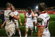 23 November 2018; Greg Jones of Ulster with his team-mates dejected following the Guinness PRO14 Round 9 match between Scarlets and Ulster at Parc Y Scarets in Llanelli, Wales. Photo by Chris Fairweather/Sportsfile