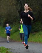 24 November 2018; parkrun Ireland in partnership with Vhi, added their 100th event on Saturday, 24th November, with the introduction of the Glen River parkrun in Co. Cork. Pictured is Sue Reed from Cork City, taking part in the Glen River parkrun. parkruns take place over a 5km course weekly, are free to enter and are open to all ages and abilities, providing a fun and safe environment to enjoy exercise. To register for a parkrun near you visit www.parkrun.ie. Photo by Eóin Noonan/Sportsfile