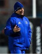 23 November 2018; Leinster scrum coach John Fogarty during the Guinness PRO14 Round 9 match between Leinster and Ospreys at the RDS Arena in Dublin. Photo by Ramsey Cardy/Sportsfile