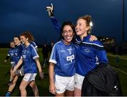 24 November 2018; Aishling Moloney, right, and Aislinn Desmond of Munster celebrate following the Ladies Gaelic Annual Interprovincials at WIT Sports Campus, in Waterford. Photo by David Fitzgerald/Sportsfile