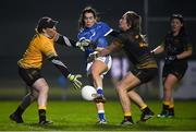 24 November 2018; Sarah Houlihan of Munster shoots to score her side's second goal during the Ladies Gaelic Annual Interprovincials at WIT Sports Campus, in Waterford. Photo by David Fitzgerald/Sportsfile