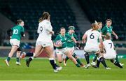 24 November 2018; Michelle Claffey of Ireland during the Women's International Rugby match between England and Ireland at Twickenham Stadium in London, England. Photo by Matt Impey/Sportsfile