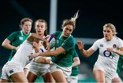 24 November 2018; Eimear Considine of Ireland is tackled by Sarah McKenna of England during the Women's International Rugby match between England and Ireland at Twickenham Stadium in London, England. Photo by Matt Impey/Sportsfile