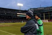 18 November 2018; Limerick manager John Kiely during the Aer Lingus Fenway Hurling Classic 2018 Final match between Cork and Limerick at Fenway Park in Boston, MA, USA. Photo by Piaras Ó Mídheach/Sportsfile