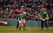 18 November 2018; A general view of supporters during the Aer Lingus Fenway Hurling Classic 2018 Final match between Cork and Limerick at Fenway Park in Boston, MA, USA. Photo by Piaras Ó Mídheach/Sportsfile