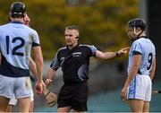 4 November 2018; Referee Diarmuid Kirwan during the AIB Munster GAA Hurling Senior Club Championship semi-final match between Na Piarsaigh and Clonoulty / Rossmore at the Gaelic Grounds in Limerick. Photo by Piaras Ó Mídheach/Sportsfile
