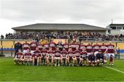 25 November 2018; The Mullinalaghta St Columba's team before the AIB Leinster GAA Football Senior Club Championship semi-final match between Mullinalaghta St. Columba's and Eire Og at Glennon Brothers Pearse Park in Longford. Photo by Matt Browne/Sportsfile