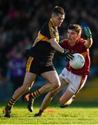 25 November 2018; Brian Looney of Dr Crokes in action against Jamesie O'Connor of St Joseph's Miltown Malbay during the AIB Munster GAA Football Senior Club Championship Final match between Dr. Crokes and St. Josephs Miltown Malbay at the Gaelic Grounds in Limerick. Photo by Eóin Noonan/Sportsfile
