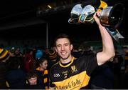 25 November 2018; John Payne of Dr Crokes lifting the cup following the AIB Munster GAA Football Senior Club Championship Final match between Dr. Crokes and St. Josephs Miltown Malbay at the Gaelic Grounds in Limerick. Photo by Eóin Noonan/Sportsfile