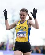 25 November 2018; Ciara Mageean of UCD A.C. on her way to winning the Senior Women 8,000m during the Irish Life Health National Senior & Junior Cross Country Championships at National Sports Campus in Abbottstown, Dublin. Photo by Harry Murphy/Sportsfile