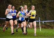 25 November 2018; Ciara Mageean of UCD A.C., right, on her way to winning the Senior Women 8,000m during the Irish Life Health National Senior & Junior Cross Country Championships at National Sports Campus in Abbottstown, Dublin. Photo by Harry Murphy/Sportsfile
