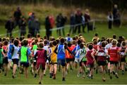 25 November 2018; A general view of the Boys U12 2,000m during the Irish Life Health National Senior & Junior Cross Country Championships at National Sports Campus in Abbottstown, Dublin. Photo by Harry Murphy/Sportsfile