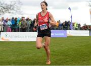 25 November 2018; Breege Connolly of City of Derry AC Spartans Co. Derry, competing in the Senior and U23 Women's 8,000m during the Irish Life Health National Senior & Junior Cross Country Championships at National Sports Campus in Abbottstown, Dublin. Photo by Harry Murphy/Sportsfile