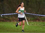 25 November 2018; Ann Marie Boland of Clonmel A.C. Co. Tipperary competing in the Senior and U23 Women's 8,000m during the Irish Life Health National Senior & Junior Cross Country Championships at National Sports Campus in Abbottstown, Dublin. Photo by Harry Murphy/Sportsfile