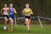 25 November 2018; Rachel Gibson of North Down AC Co. Down, right, competing in the Senior and U23 Women's 8,000m during the Irish Life Health National Senior & Junior Cross Country Championships at National Sports Campus in Abbottstown, Dublin. Photo by Harry Murphy/Sportsfile