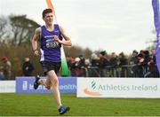 25 November 2018; Ryan Smith of Springwell Running Club Co. Derry, competing in the Boys U16 4,000m during the Irish Life Health National Senior & Junior Cross Country Championships at National Sports Campus in Abbottstown, Dublin. Photo by Harry Murphy/Sportsfile
