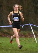 25 November 2018; Niamh Kelly of Letterkenny A.C. Co. Donegal, competing in the Senior and U23 Women's 8,000m during the Irish Life Health National Senior & Junior Cross Country Championships at National Sports Campus in Abbottstown, Dublin. Photo by Harry Murphy/Sportsfile