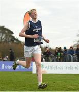 25 November 2018; Josh Fenton of St. Senans A.C. Co. Kilkenny, competing in the Boys U16 4,000m  during the Irish Life Health National Senior & Junior Cross Country Championships at National Sports Campus in Abbottstown, Dublin. Photo by Harry Murphy/Sportsfile