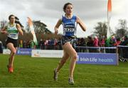 25 November 2018; Ruth Heery of Waterford A.C. Co. Waterford competing in the Girls U18/Junior 4000m during the Irish Life Health National Senior & Junior Cross Country Championships at National Sports Campus in Abbottstown, Dublin. Photo by Harry Murphy/Sportsfile
