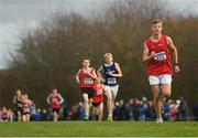 25 November 2018; Edward Mcentee of Dunleer A.C. Co. Louth, competing in the Boys U16 4,000m during the Irish Life Health National Senior & Junior Cross Country Championships at National Sports Campus in Abbottstown, Dublin. Photo by Harry Murphy/Sportsfile