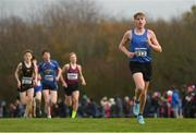 25 November 2018; Cian O'Boyle of Marian A.C. Co. Clare, competing in the Boys U16 4,000m during the Irish Life Health National Senior & Junior Cross Country Championships at National Sports Campus in Abbottstown, Dublin. Photo by Harry Murphy/Sportsfile