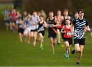 25 November 2018; Peter Terek of Lagan Valley AC, Belfast, competing in the Boys U16 4,000m during the Irish Life Health National Senior & Junior Cross Country Championships at National Sports Campus in Abbottstown, Dublin. Photo by Harry Murphy/Sportsfile