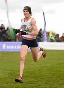 25 November 2018; Siobhan Odoherty of Borrisokane A.C. Co. Tipperary, competing in the Senior and U23 Women's 8,000m during the Irish Life Health National Senior & Junior Cross Country Championships at National Sports Campus in Abbottstown, Dublin. Photo by Harry Murphy/Sportsfile