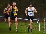 25 November 2018; Eric Keogh of Donore Harriers Co. Meath, competing in the Senior and U23 Men's 10,000m during the Irish Life Health National Senior & Junior Cross Country Championships at National Sports Campus in Abbottstown, Dublin. Photo by Harry Murphy/Sportsfile