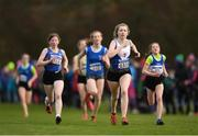 25 November 2018; Amelia Campbell of Ratoath A.C. Co. Dublin, competing in the Girls U16 4,000m during the Irish Life Health National Senior & Junior Cross Country Championships at National Sports Campus in Abbottstown, Dublin. Photo by Harry Murphy/Sportsfile