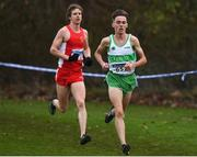 25 November 2018; Brian Fay of Raheny Shamrock A.C. Co. Dublin, competing in the Senior and U23 Men's 10,000m during the Irish Life Health National Senior & Junior Cross Country Championships at National Sports Campus in Abbottstown, Dublin. Photo by Harry Murphy/Sportsfile