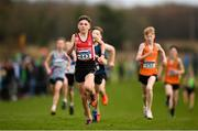 25 November 2018; Oisin Duffy of City of Derry A.C. Spartans Co. Derry, competing in the Boys U14 2,000m during the Irish Life Health National Senior & Junior Cross Country Championships at National Sports Campus in Abbottstown, Dublin. Photo by Harry Murphy/Sportsfile