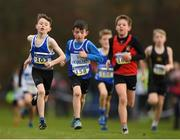 25 November 2018; Oran Butler of Carrick-on-Shannon A.C. Co. Leitrim, left, competing in the Boys U12 2,000m during the Irish Life Health National Senior & Junior Cross Country Championships at National Sports Campus in Abbottstown, Dublin. Photo by Harry Murphy/Sportsfile