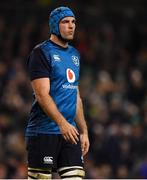 24 November 2018; Tadhg Beirne of Ireland during the Guinness Series International match between Ireland and USA at the Aviva Stadium in Dublin. Photo by Brendan Moran/Sportsfile
