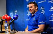 26 November 2018; Scrum coach John Fogarty during a Leinster Rugby press conference at Leinster Rugby Headquarters in UCD, Dublin. Photo by Ramsey Cardy/Sportsfile