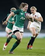24 November 2018; Lauren Delany of Ireland during the Women's International Rugby match between England and Ireland at Twickenham Stadium in London, England. Photo by Matt Impey/Sportsfile
