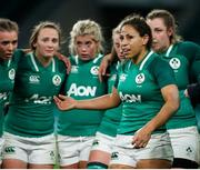 24 November 2018; Sene Naoupu of Ireland, centre, with her team-mates after the Women's International Rugby match between England and Ireland at Twickenham Stadium in London, England. Photo by Matt Impey/Sportsfile